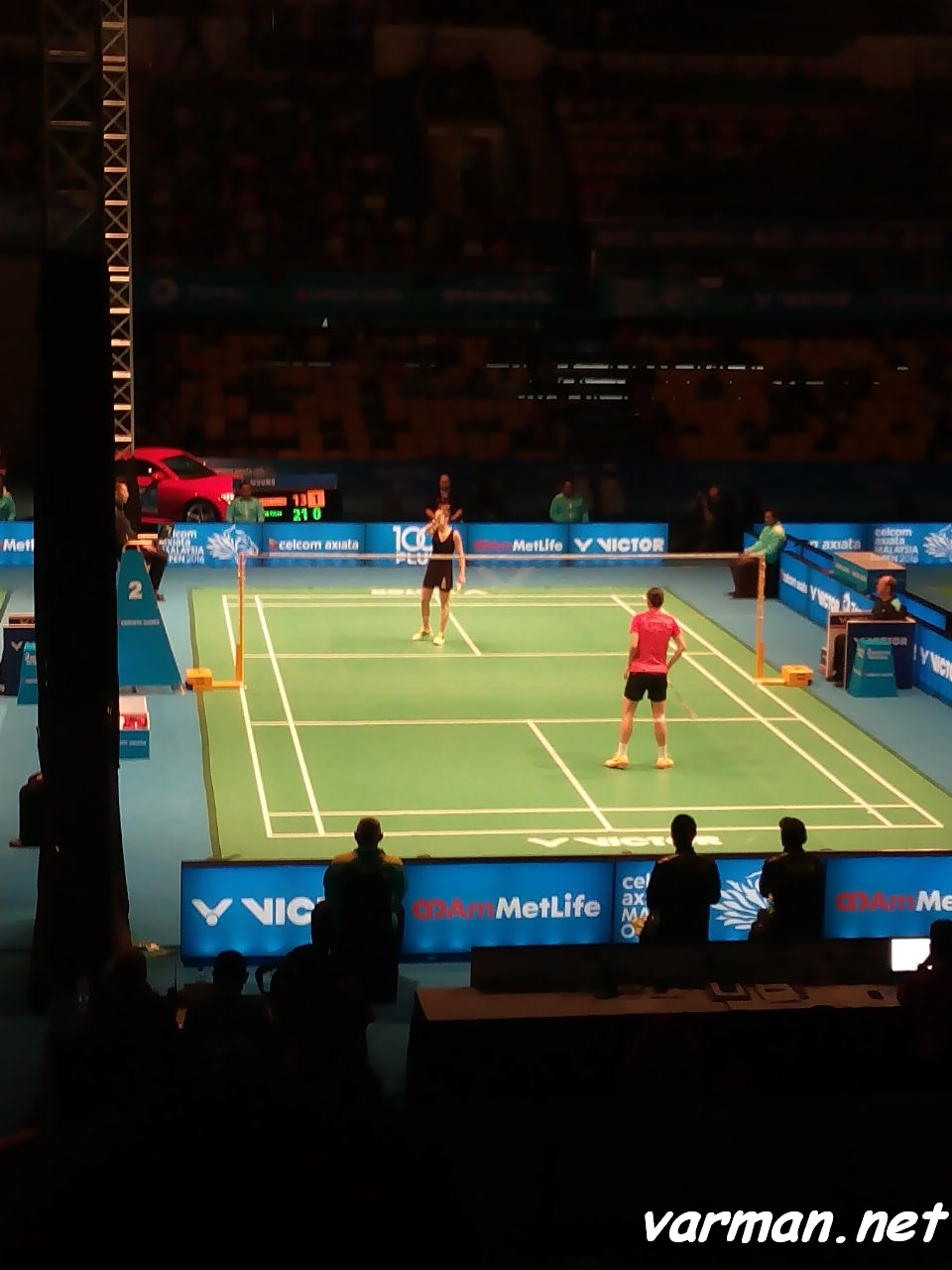 WANG Yihan VS Carolina MARIN
