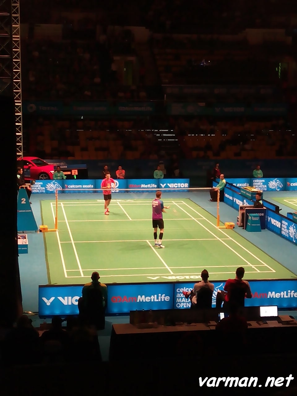 Jan O JORGENSEN VS LIN Dan