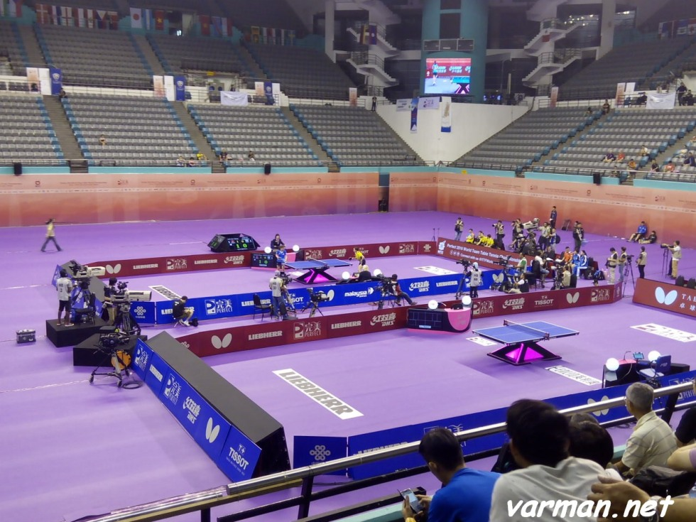Perfect 2016 World Team Table Tennis Championships