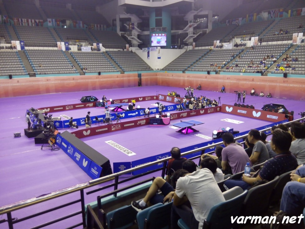 Perfect 2016 World Team Table Tennis Championships 1/4 match