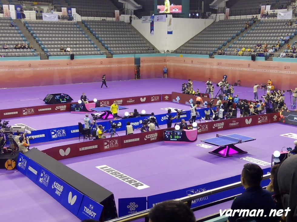 2016 World Championships: Ma Long vs Mattias Karlsson