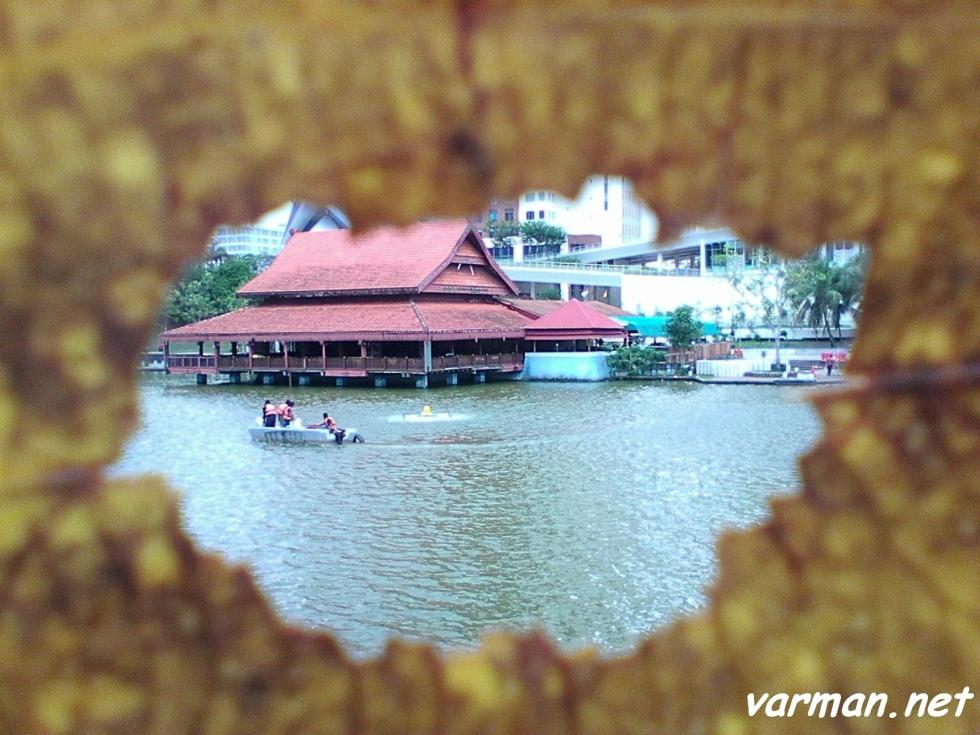 Framing: Tasik Indah Restaurant